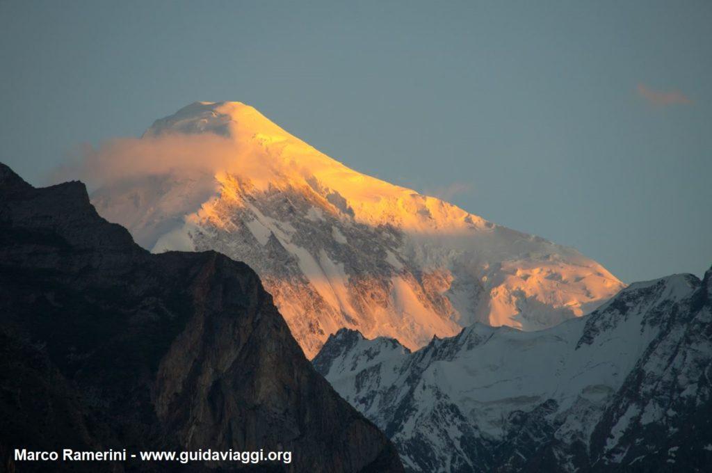 Monte Diran (Diran Peak), Karakórum, Pakistán. Autor y Copyright Marco Ramerini