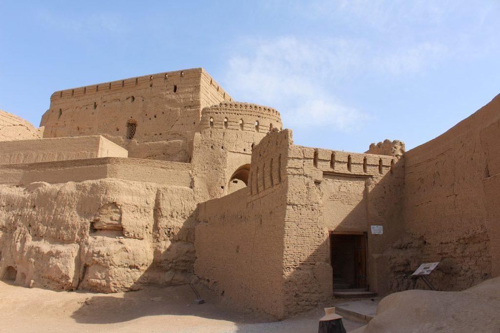 Fortaleza de Narin Qal'eh, Meybod, Irán. Autor y Copyright Marco Ramerini,
