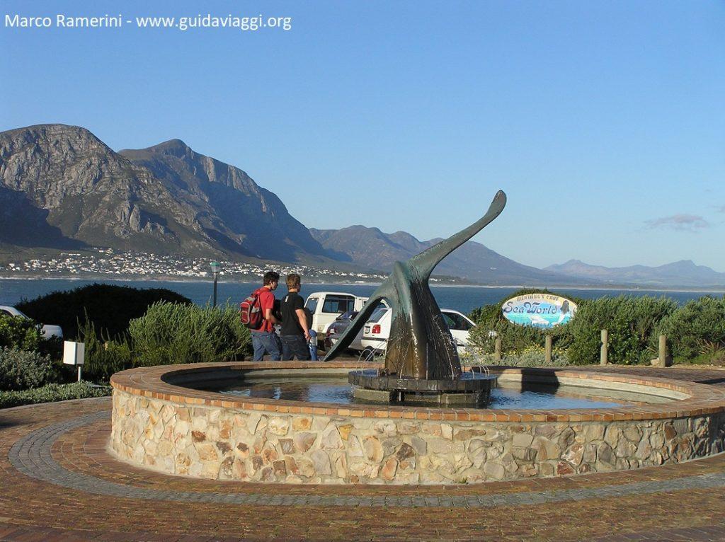 Hermanus y la ruta de las ballenas, Sudáfrica. Autor y Copyright Marco Ramerini.