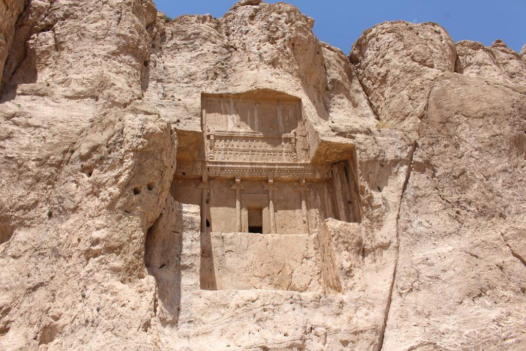 La tumba de Artajerjes I, Naqsh-e Rostam, Irán. Autor y Copyright Marco Ramerini