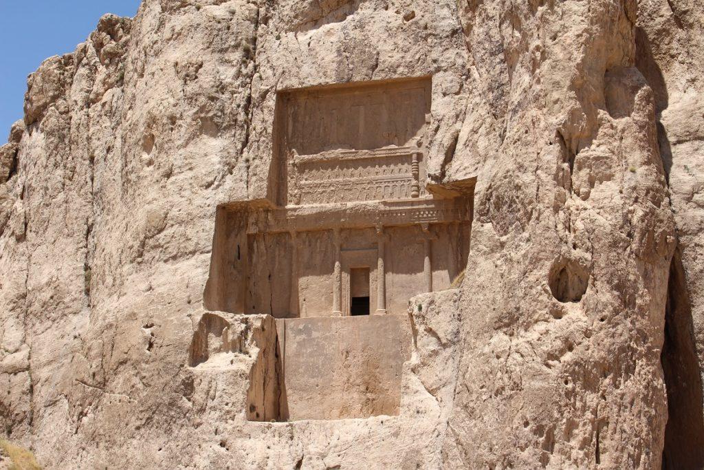 La tumba de Darío II, Irán. Autor y Copyright Marco Ramerini
