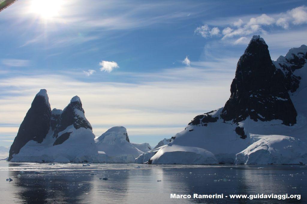 Canal Lemaire, Antártida. Autor y Copyright Marco Ramerini