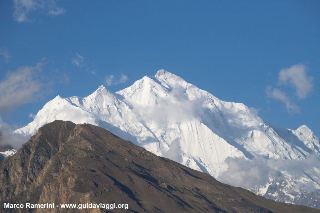 Monte Rakaposhi, Karakorum, Pakistán. Autor y Copyright Marco Ramerini