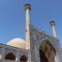 Mezquita del viernes (Mezquita Jāmeh), Esfahan, Irán. Autor y Copyright Marco Ramerini
