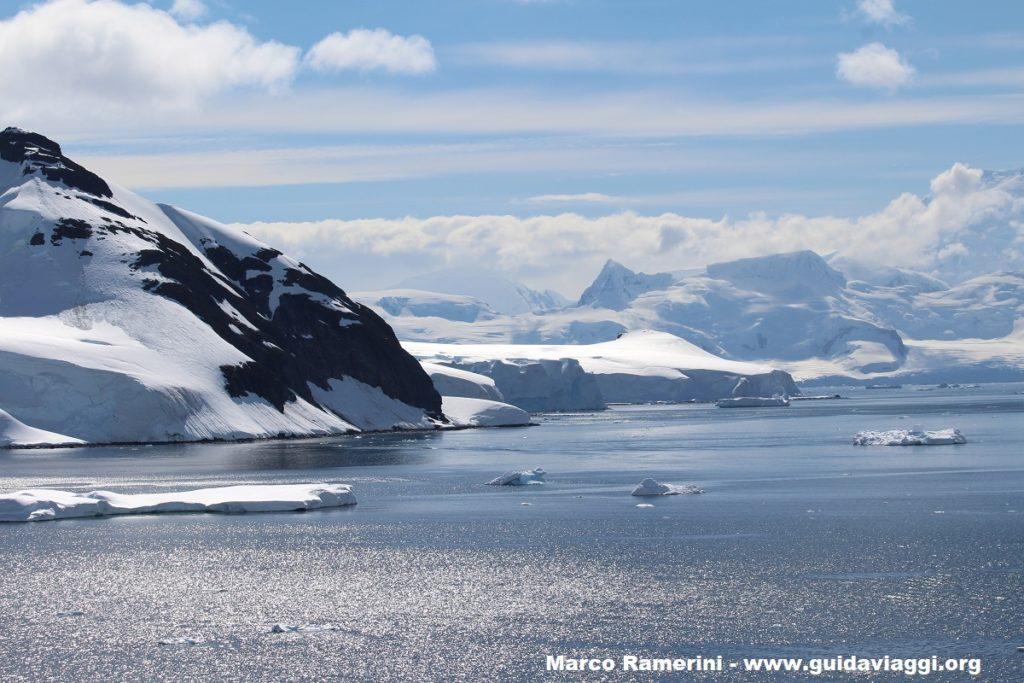 Paradise Harbour, Antártida. Autor y Copyright Marco Ramerini
