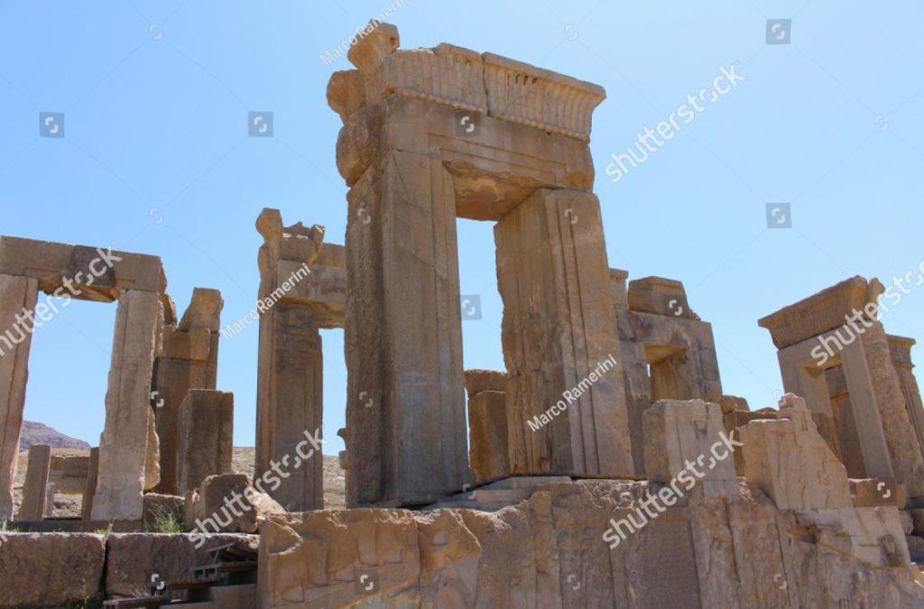 Irán. La Tachara (Palacio de Darío el Grande). Ruinas de la capital ceremonial del imperio aqueménida. Autor y derechos de autor Marco Ramerini ...
