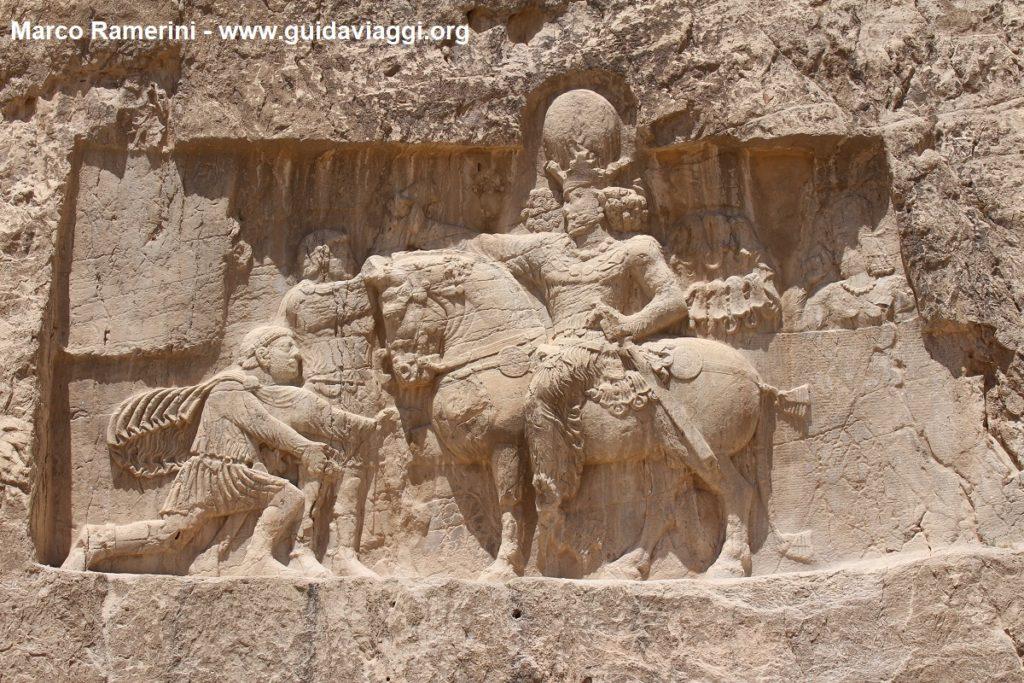 Triunfo de Shapur I, Irán. Autor y Copyright Marco Ramerini