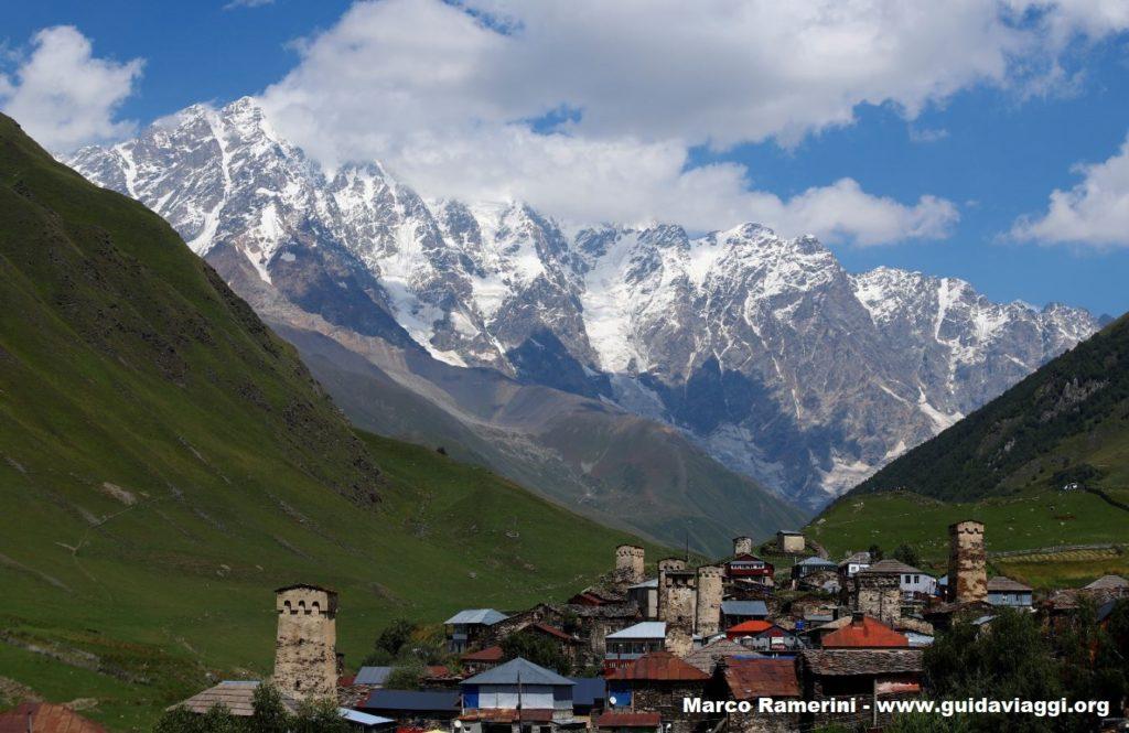 Ushguli, Svaneti. Autor y Copyright Marco Ramerini