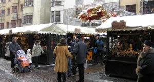 Mercados navideños en Innsbruck, Austria. Autor y Copyright Liliana Ramerini