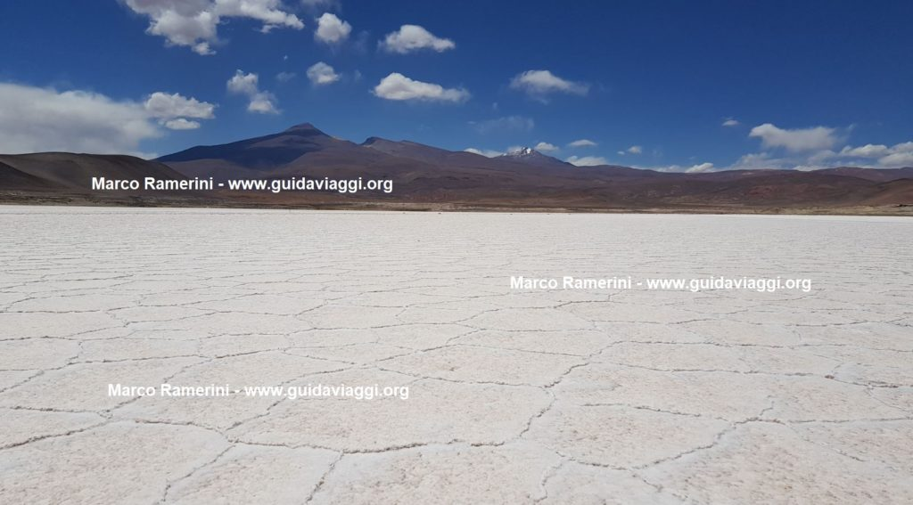 Salar de Pocitos, Argentina. Autor y Copyright Marco Ramerini