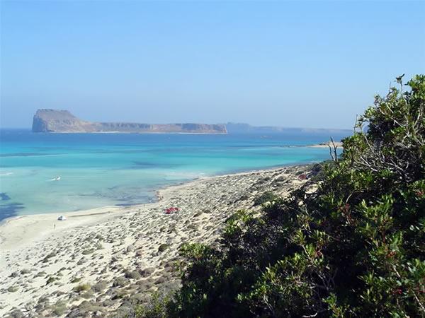 La laguna de Balos, Creta, Grecia. Author Luca di Lalla