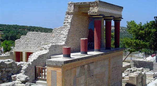 Cnosos, Creta, Grecia. Autor y Copyright Luca di Lalla