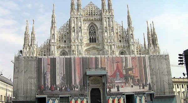Duomo, Milán, Lombardía. Autor y Copyright Marco Ramerini
