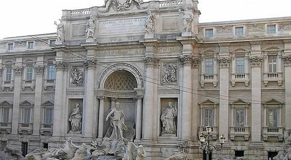 Fontana de Trevi, Roma, Italia. Autor y Copyright Marco Ramerini