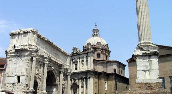 Foro Romano, Roma, Italia. Autor y Copyright Marco Ramerini