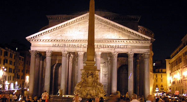 Pantheon, Roma, Italia. Author and Copyright Marco Ramerini