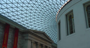 Gran Corte del Museo Británico (1994-2000) diseñada por el arquitecto inglés Norman Foster, Museo Británico, Londres. Autor y Copyright Niccolò di Lalla