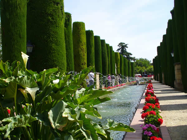 Jardines del Alcázar, Córdoba, Andalucía, España. Autor y Copyright Liliana Ramerini.
