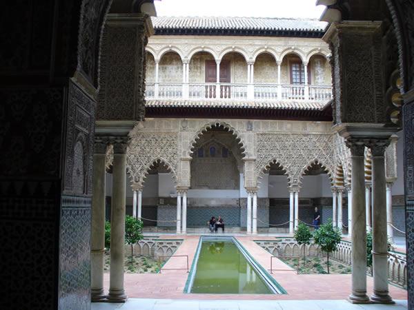 Reales Alcázares, Sevilla, Andalucía, España. Autor y Copyright Liliana Ramerini