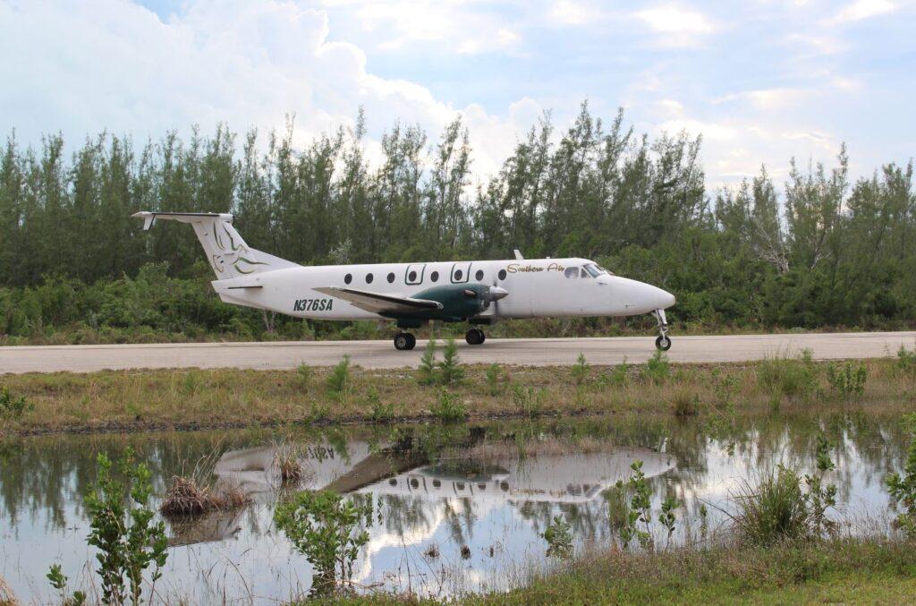 Vuelo de Southern Air, Bahamas. Autor y Copyright Marco Ramerini