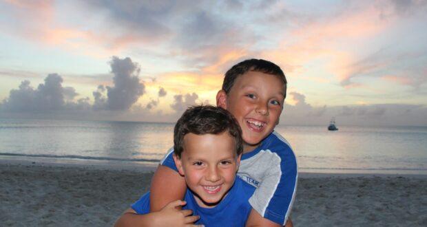En el Caribe con niños. Islas Bahamas. Autor y Copyright Marco Ramerini