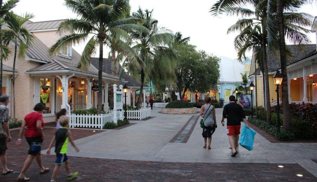Atlantis Marina Village, Paradise Island, Nassau, New Providence, Bahamas. Author and Copyright Marco Ramerini.