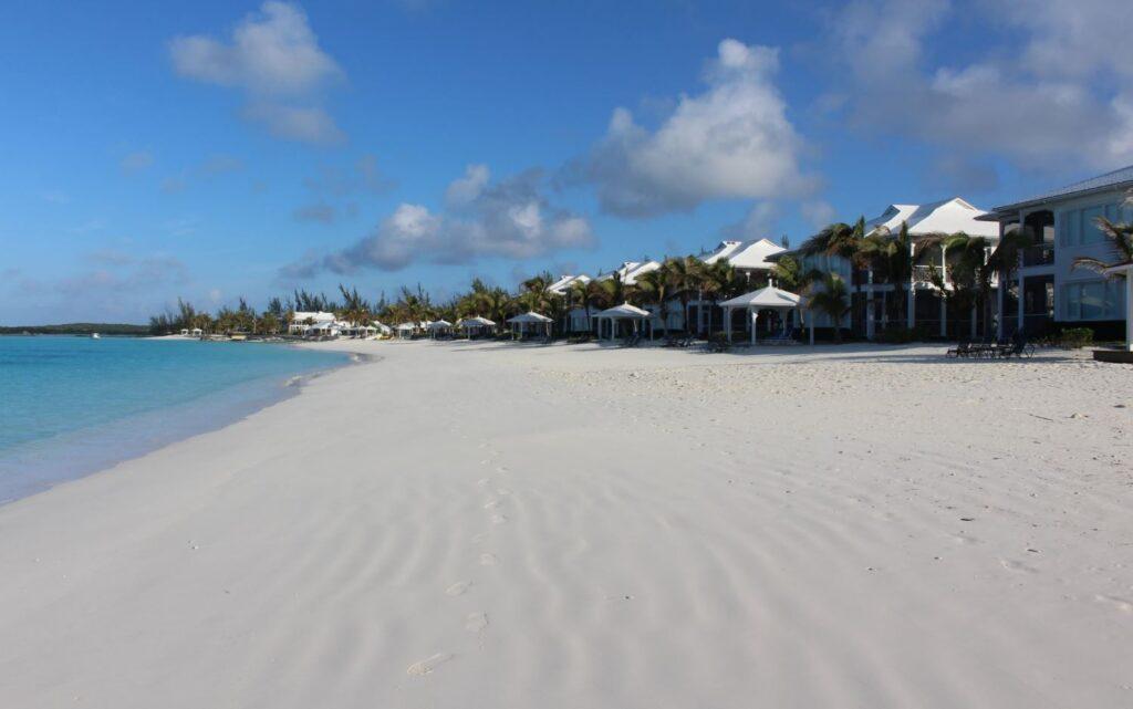 Cape Santa Maria Beach Resort, Long Island, Bahamas. Autor y Copyright Marco Ramerini